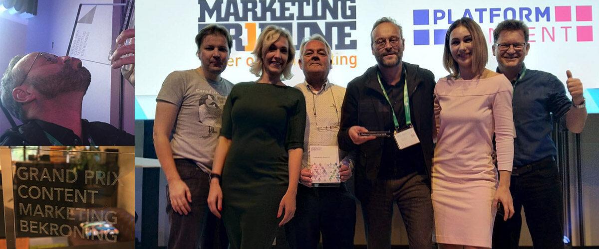 Reputations bekroond bij Grand Prix Content Marketing