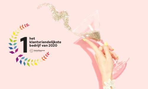 Effectieve campagne Klantvriendelijkste Bedrijf van Nederland